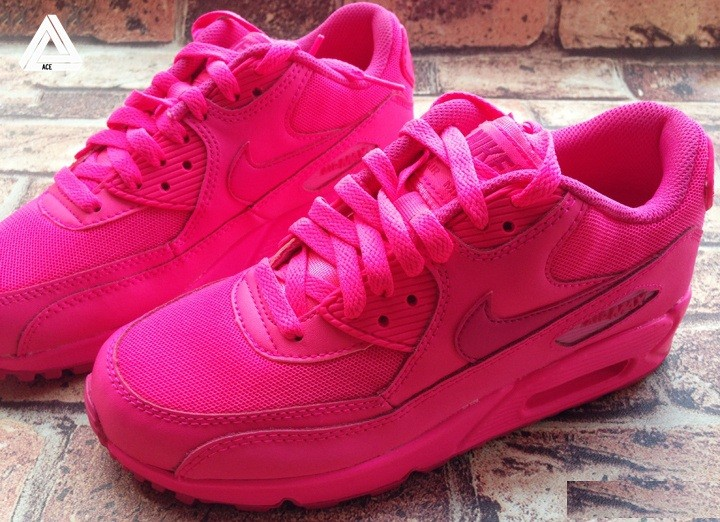 basket nike air max rose fluo